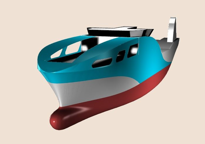 design of future efficienct stern trawler