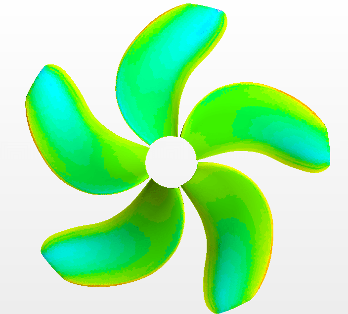 low radiated noise propeller for oceanographic vessel | Vicus DT