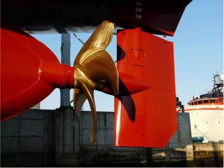 Hélices adecuadas para todo tipo de buques