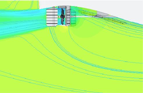 Análisis CFD autopropulsión y líneas de corriente palangrero