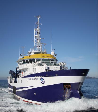 Ejemplos de proyectos realizados en buques oceanográficos