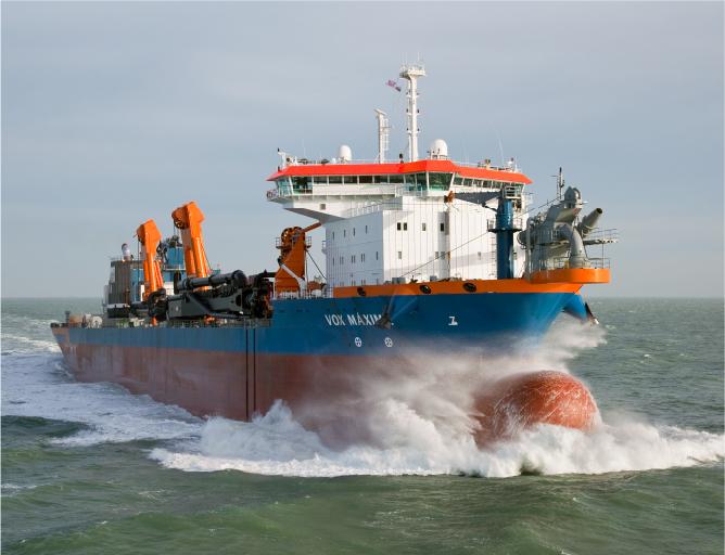 Offshore, remolcadores y dragas
