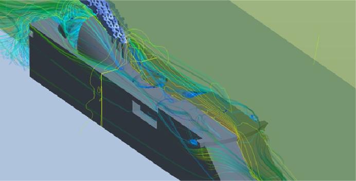 Cruise vessel exhaust gas aerodynamic CFD analysis