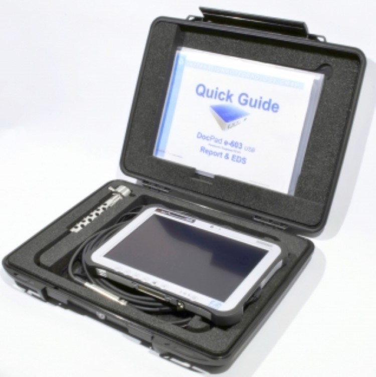 DocPad 1/2 e-600 e-line portable engine analysis and diagnosis system for diesel engines