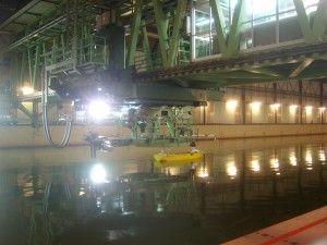 stern trawler towing tank seakeeping