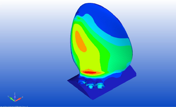 fem analysis ice class propeller blade