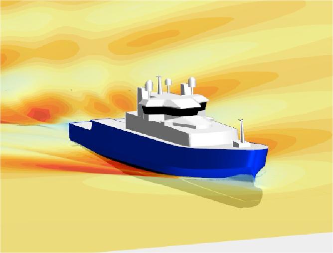patrol vessel resistance analysis