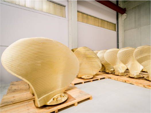 Controllable pitch propeller blades ready to ship