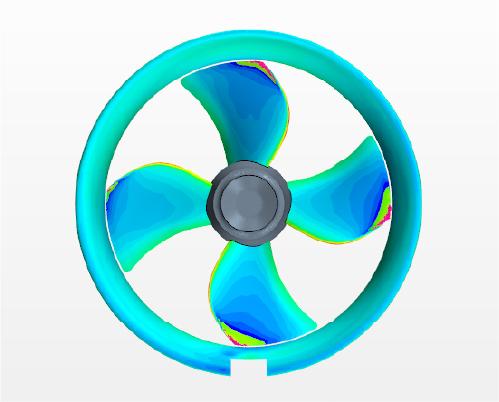 Ducted propeller design