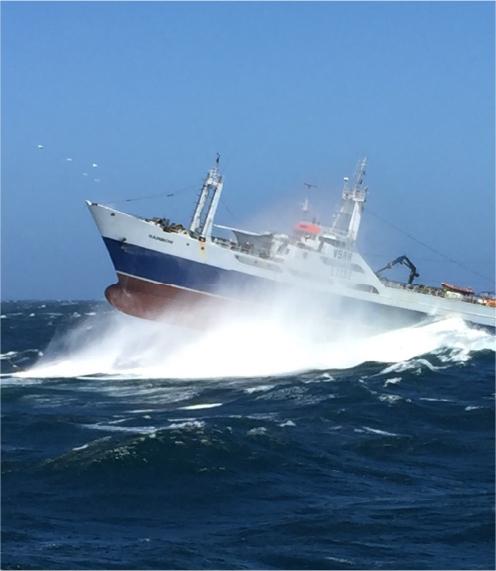 Seakeeping trawler